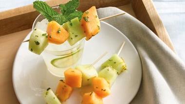 Mojito Melon Kabobs