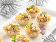 Curried Mango and Chicken Appetizers