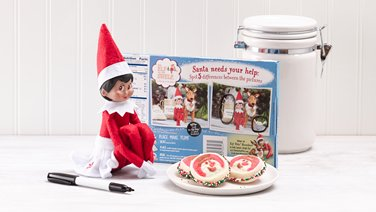 Elf on the Shelf Playing Games