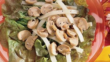 Mushroom and Swiss Cheese Salad