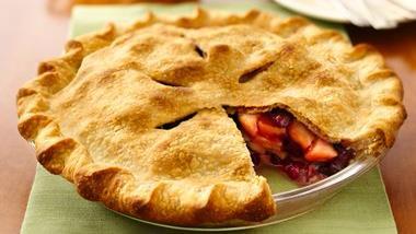 Festive Apple-berry Pie