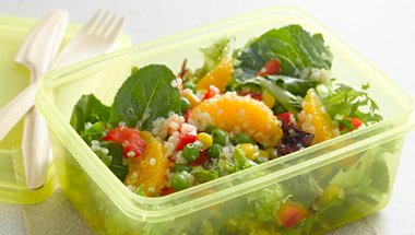 Quinoa and Vegetable Salad (Gluten-Free) recipe from Betty Crocker