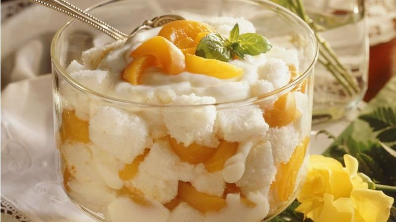 Lemon-Ginger Trifle with Apricots