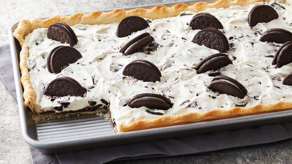 Oreo Slab Pie Recipe From Pillsbury Com