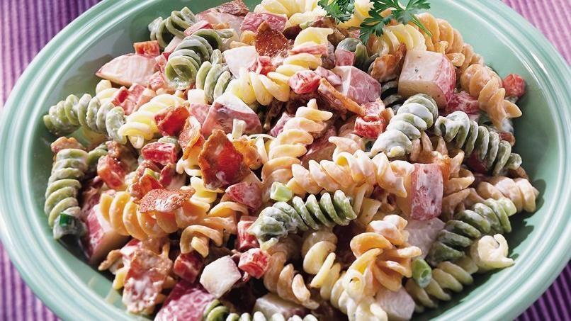 Ranch Pasta and Potato Salad