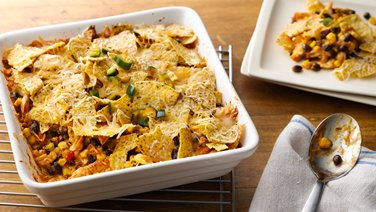 Nacho Pot Pie Bake