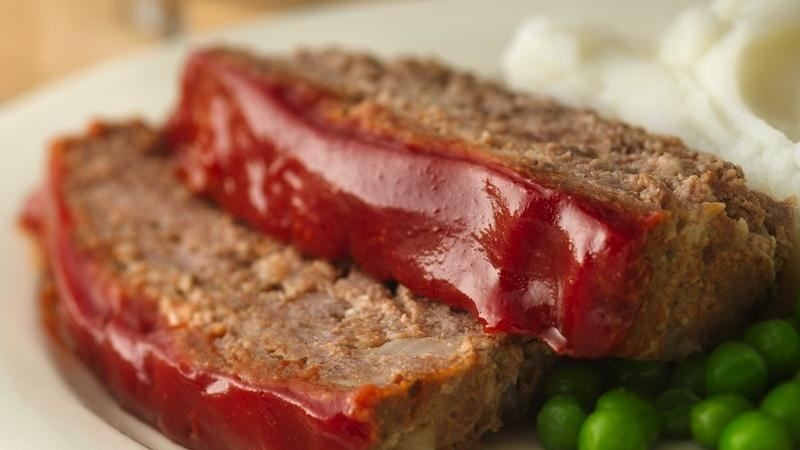 Gluten-Free Glazed Meatloaf recipe from Betty Crocker