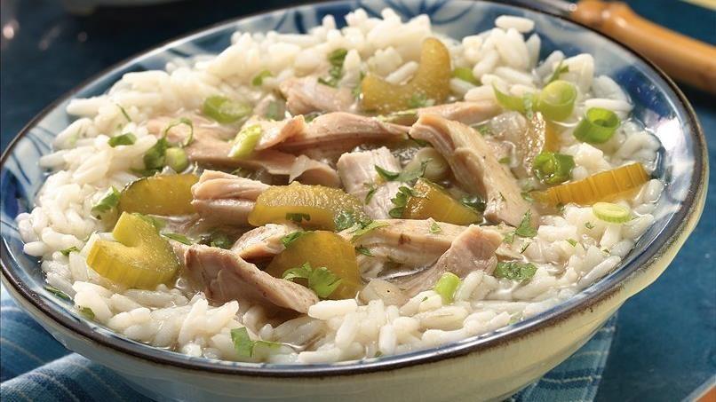 Slow-Cooker Thai Chicken & Rice Bowls