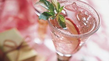 Cranberry-Apple and Wine Spritzer