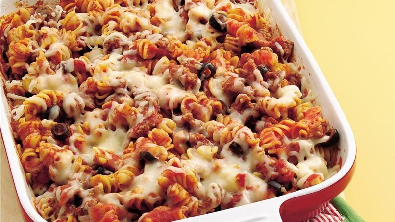 Make-Ahead Pizza Casserole