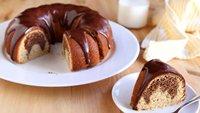 Peanut Butter-Chocolate Swirl Bundt Cake