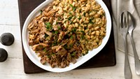 Slow-Cooker Pork Shoulder with White Beans