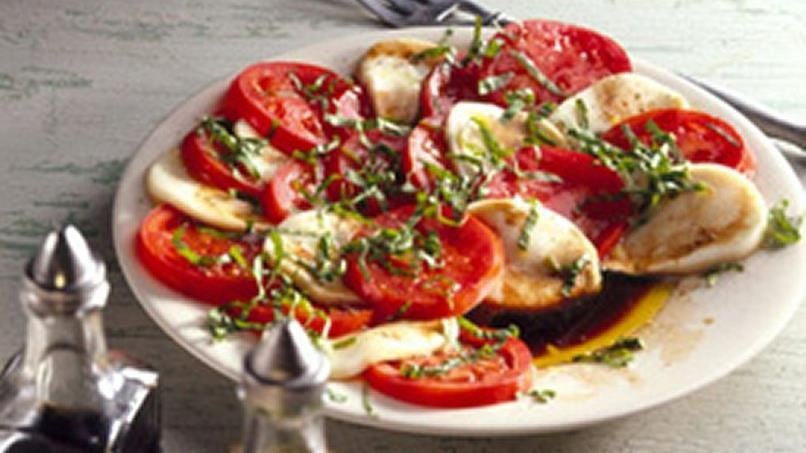 Fresh Mozzarella and Tomato