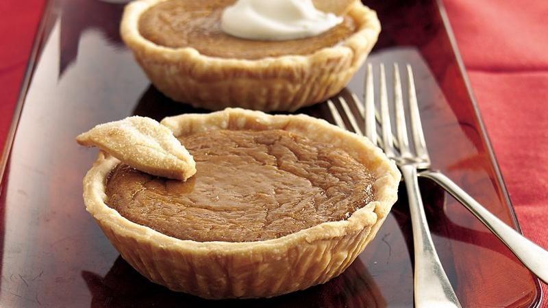Brown Sugar-Sweet Potato Tarts