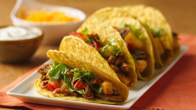Slow-Cooker Pineapple-Pork Tacos recipe - from Tablespoon!