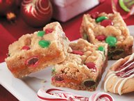 Holiday Caramel Candy Bars