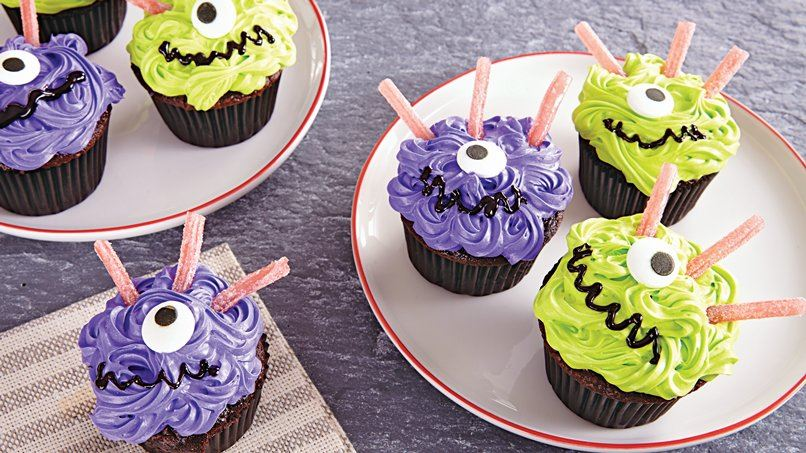 One-Eyed Monster Cupcakes