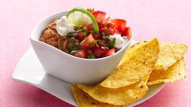 Salsa-Lime-Bean Dip