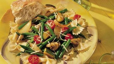 Italian Vegetable and Asiago Bow-Ties