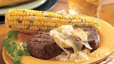 Corn on the Cob with Taco Butter