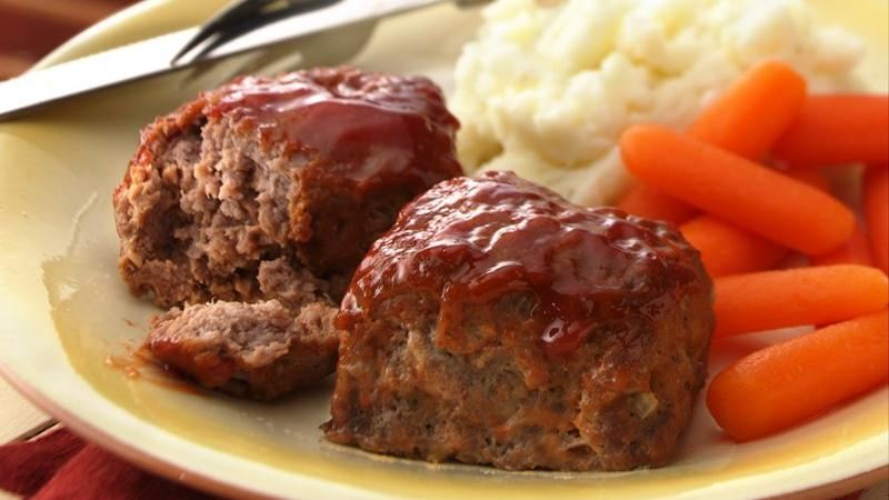 30-Minute Mini Meat Loaves