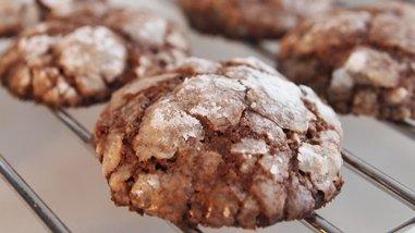 Dairy Free Chocolate Truffle Cookies
