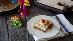 Mexican Fried Ice Cream Dessert