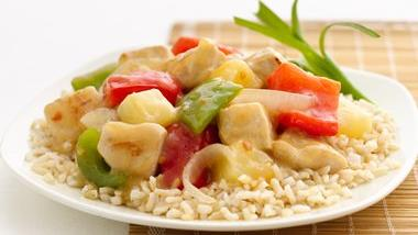 Skinny Sweet and Sour Chicken