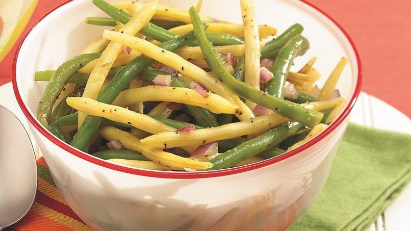 Garden Bean and Onion Salad