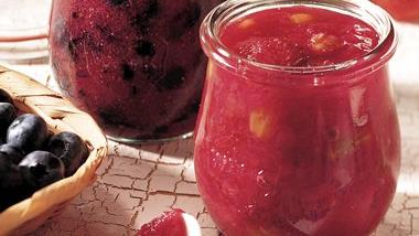 Rhubarb-Strawberry Conserve