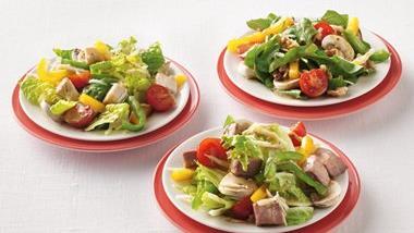 Peppered Roast Beef Salad