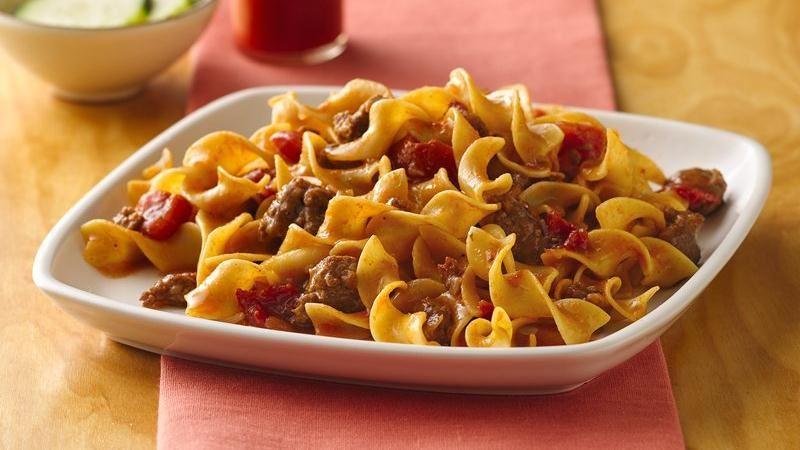Chorizo and Pasta