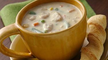 Cheesy Tuna-Vegetable Chowder (Cooking for Two)