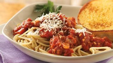 Marinara Sauce with Spaghetti