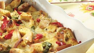 Bagel and Brie Brunch Strata