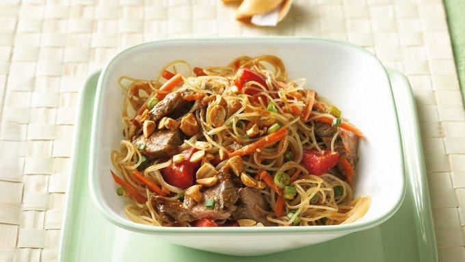 Grilled Thai Beef-Noodle Salad recipe - from Tablespoon!