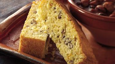 Sweet Corn-Pecan Bread