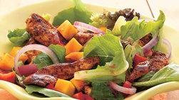 Ensalada de pollo tropical