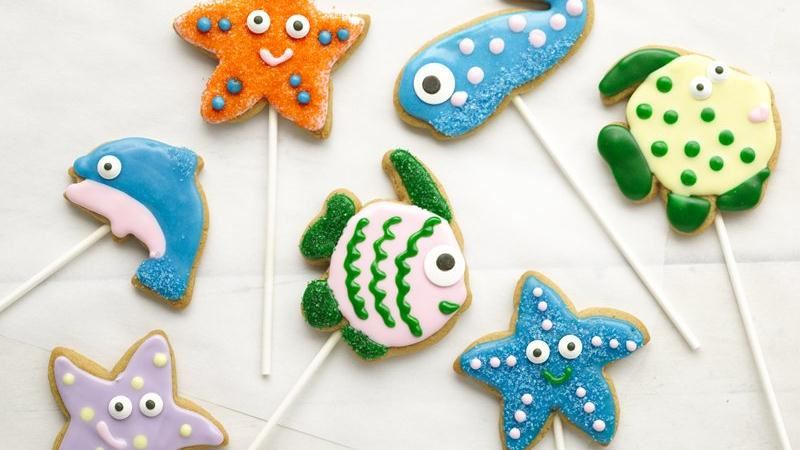 Under the Sea Cookie Pops