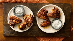 Grilled Firecracker Chicken Wings