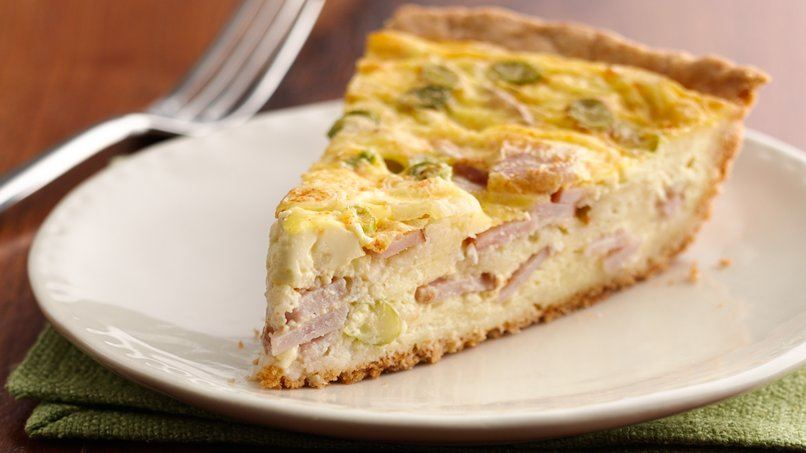 Easy Cheese and Bacon Quiche