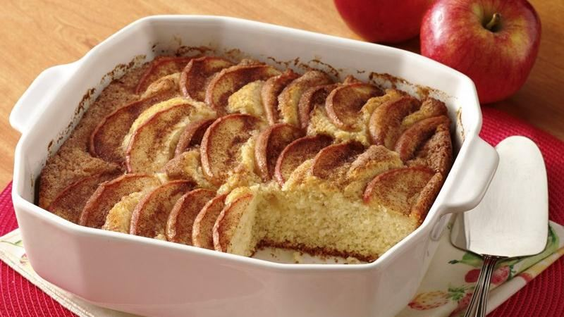 Sugar and Spice Apple Cake