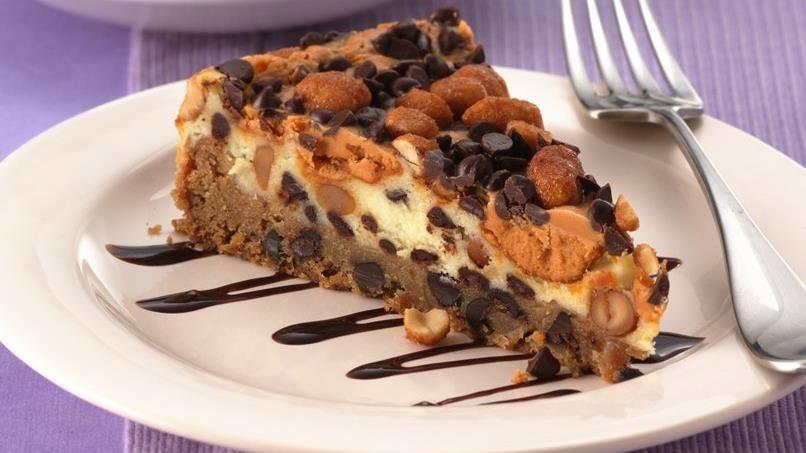 Chocolate Chip-Peanut Butter Torte