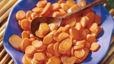 Ginger-Glazed Carrots
