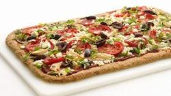 Skinny Greek Chicken Pizza