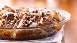 Iced Cinnamon Roll Coffee Cake
