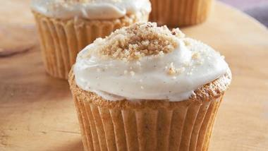 Brown Sugar-Pecan Cupcakes
