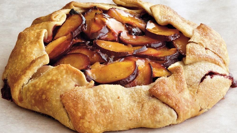 Plum Crostata