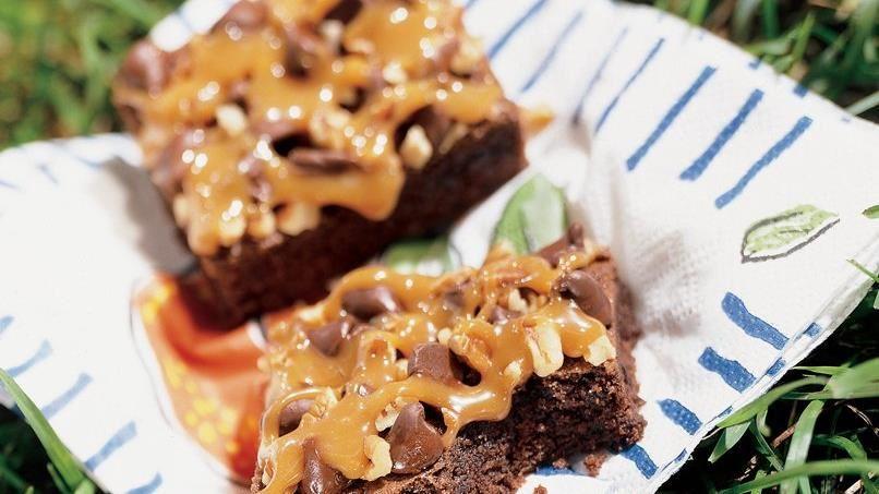 Caramelicious Brownies