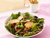 Grilled Chicken Garden Salad